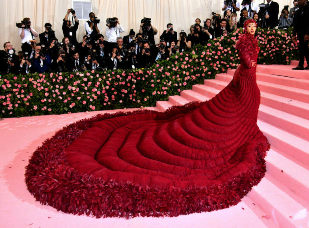 Cardi B på röda mattan