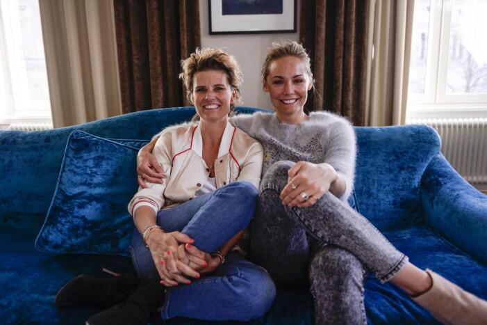 Christine Meltzer och Carina Berg 2014