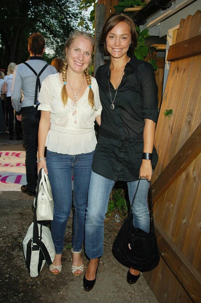 Carina Berg och Annika Lantz 2006