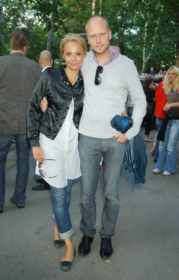 Carina Berg och Kristian Luuk 2007