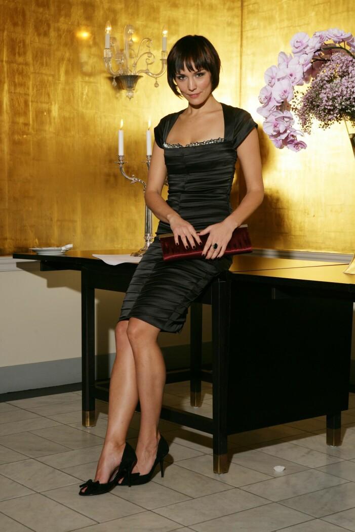 Carina Berg på premiär