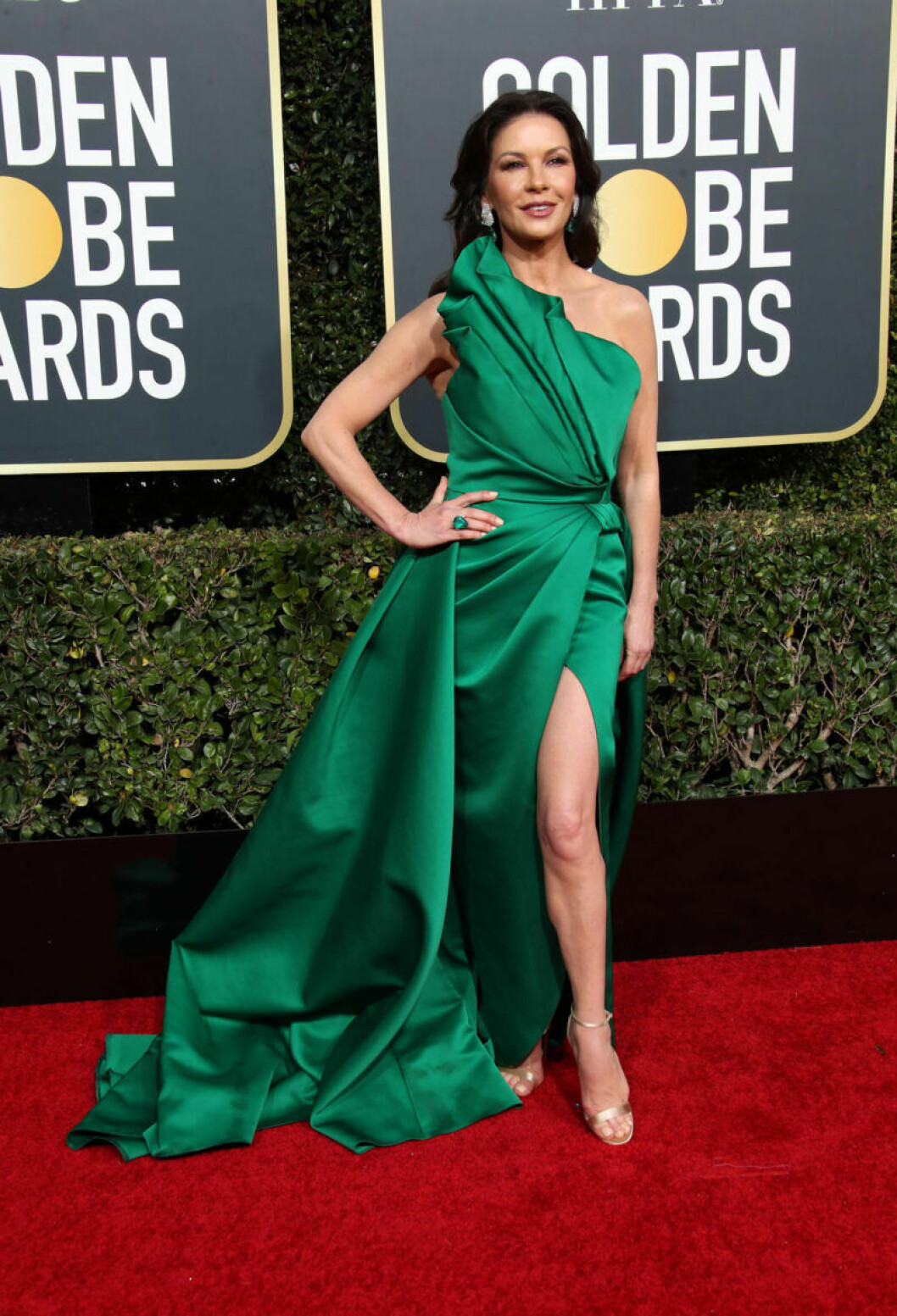 Catherine Zeta-Jones Golden Globe 2019