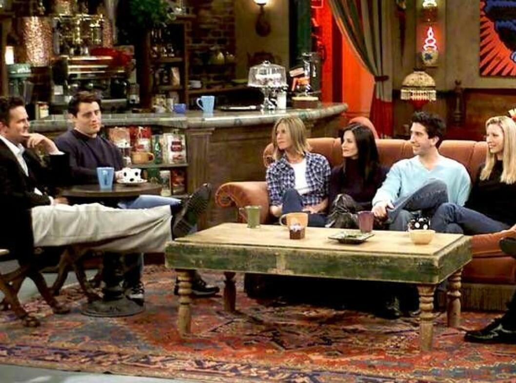 Central perk soffa