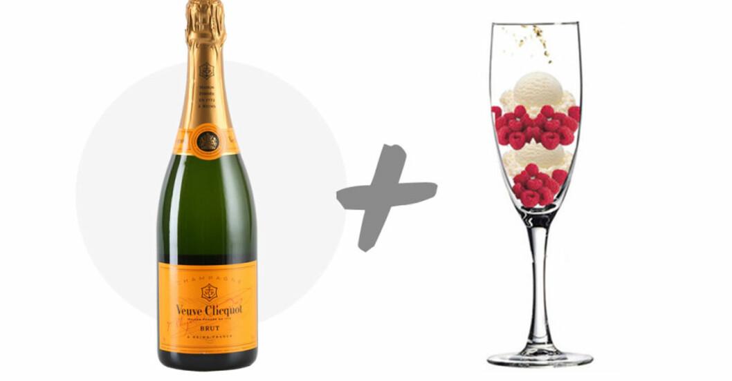 champagne drinkar