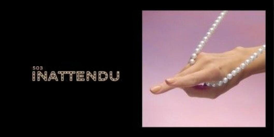 "Chanel Les Vernis i ""Inattendu""."