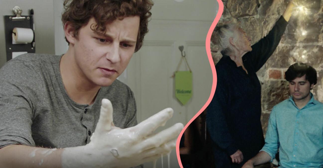 Charlie Gustafsson i SVT-serien Änglavakt.