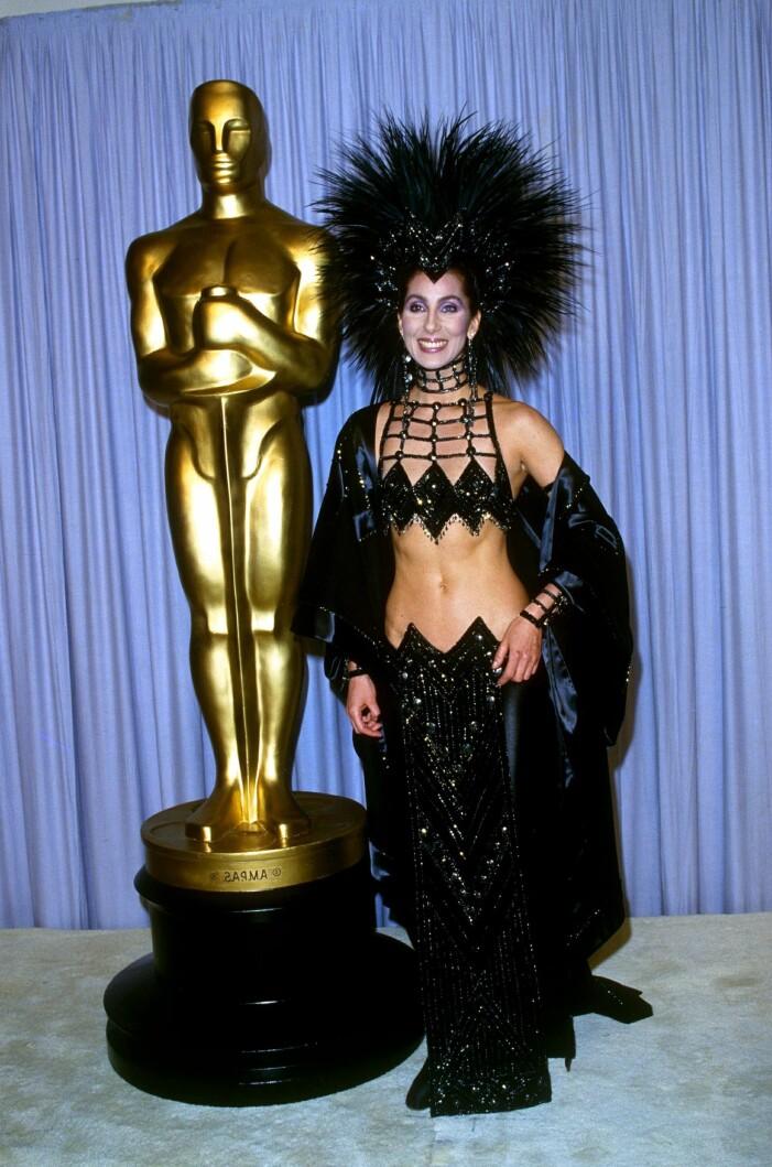 Cher på Oscarsgalan