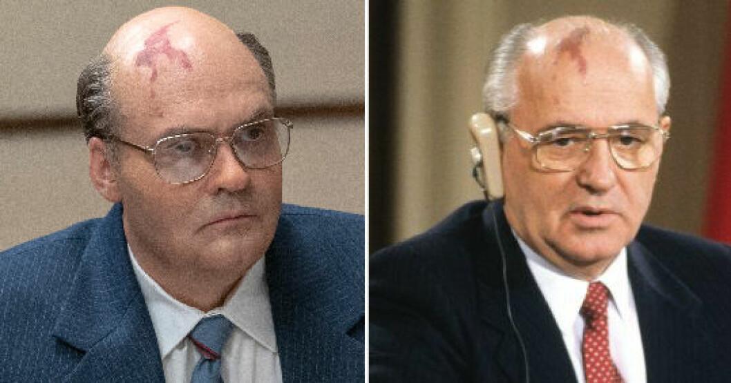 Chernobyl HBO Nordic: Så såg Gorbatjov ut i verkligheten