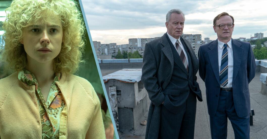 Så såg karaktärerna i Chernobyl ut i verkligheten