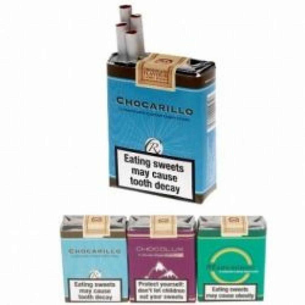 chokladcigaretter