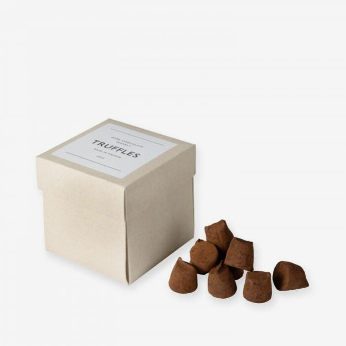 chokladtryfflar julklapp