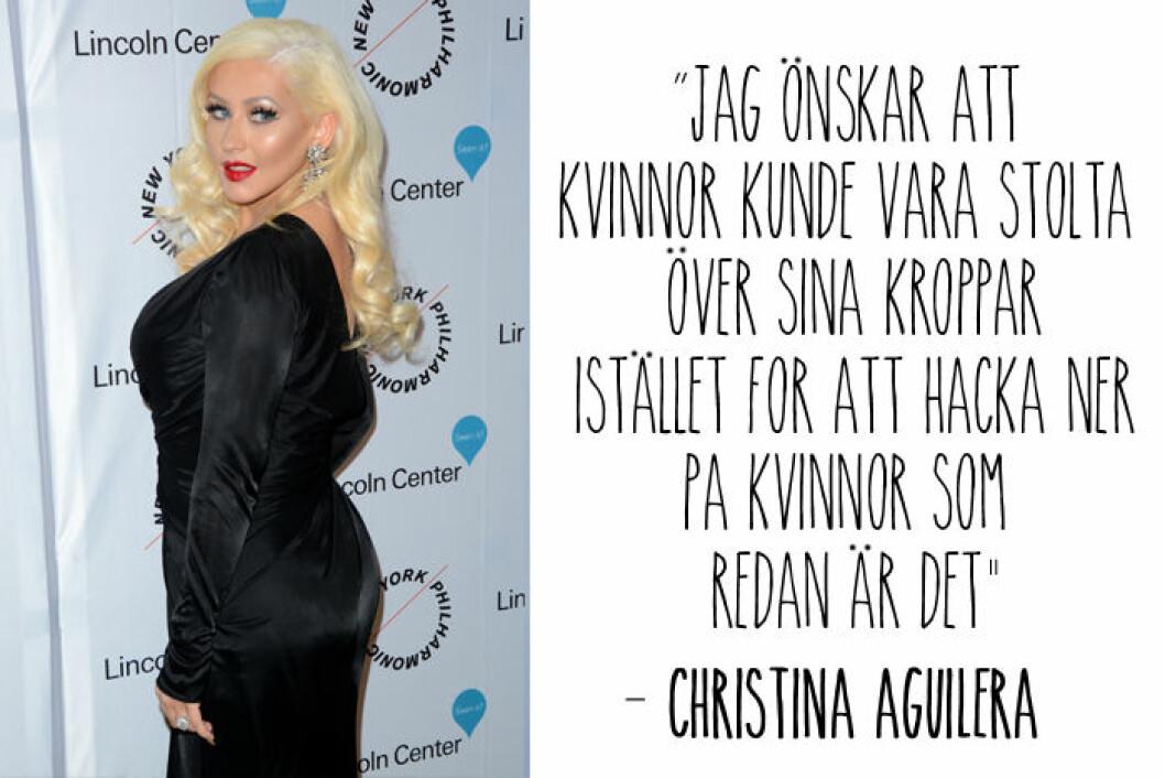 christina aguilera citat