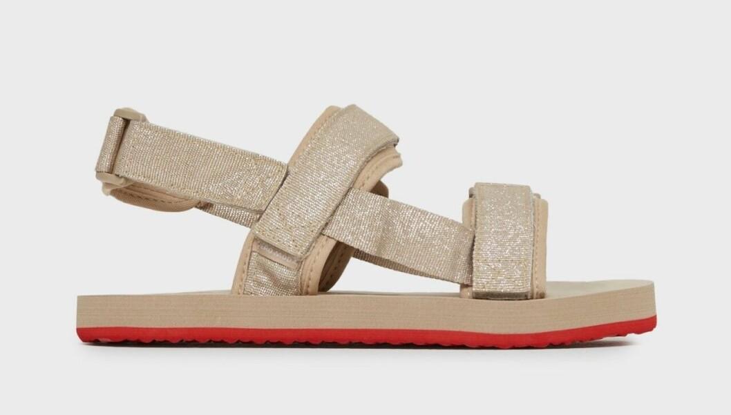 Beige chunky sandaler till budgetpris för dam till 2020