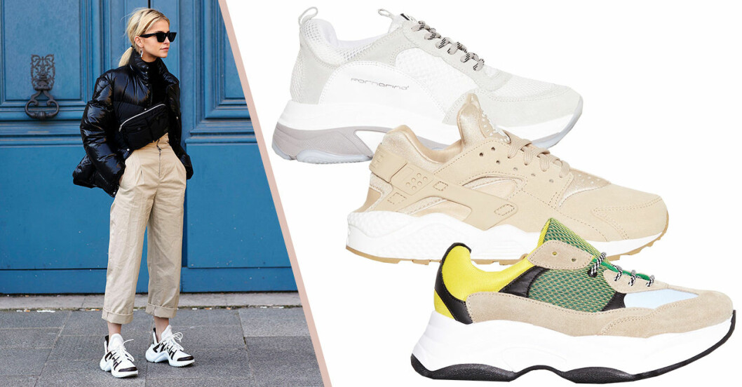 Chunky sneakers 2018