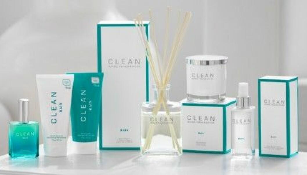 Clean har lanserat Home Fragrances. Här i doften Rain.