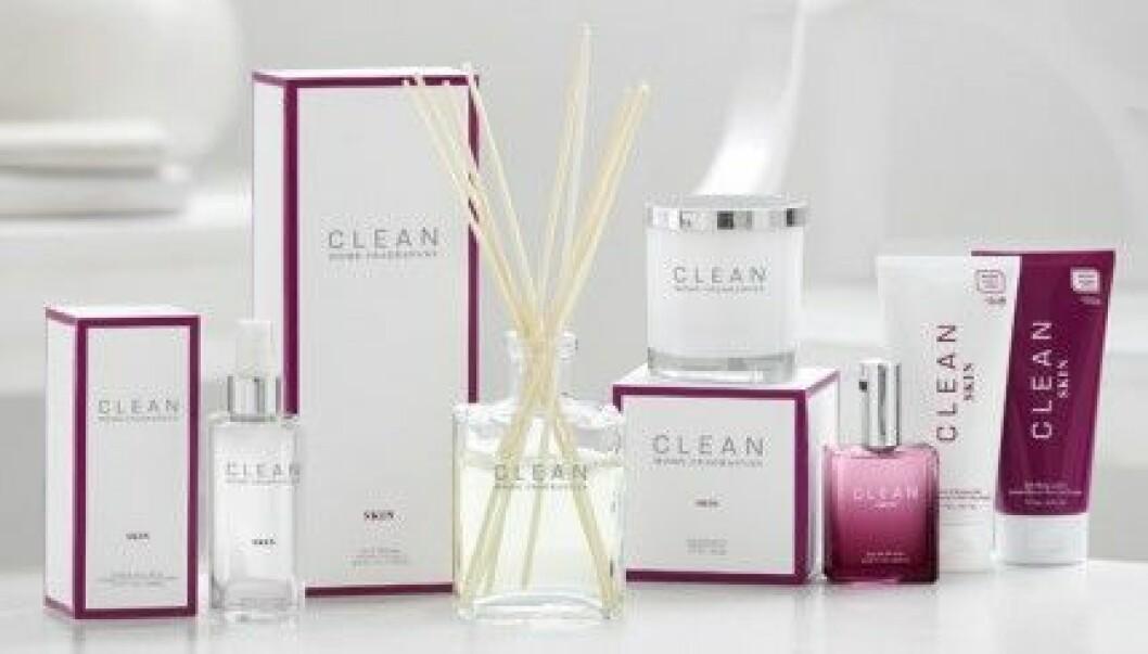 Clean har lanserat Home Fragrances. Här i doften Skin.