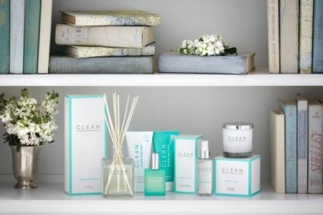 Clean har lanserat Home Fragrances. Här i doften Warm Cotton.