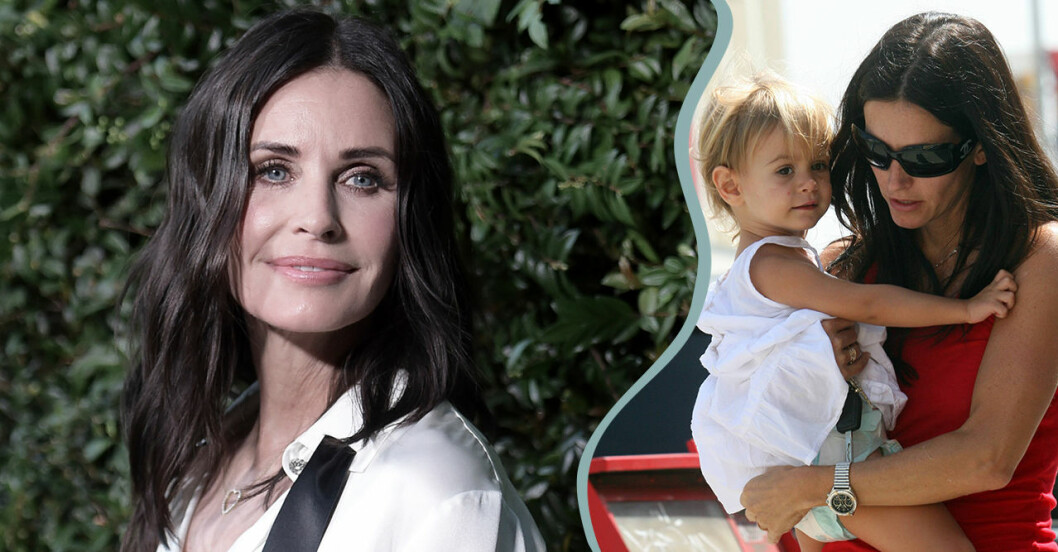 Courteney Cox video med dottern Coco Arquette älskas av följarna