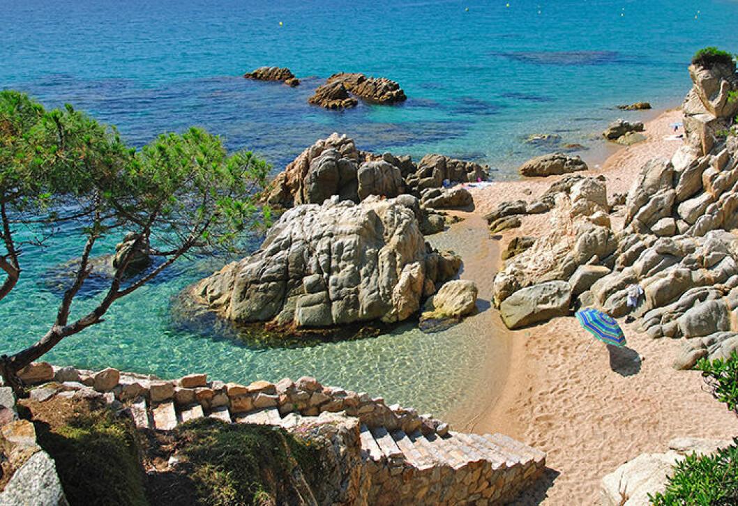 Costa Brava bjuder på sol och värme i oktober