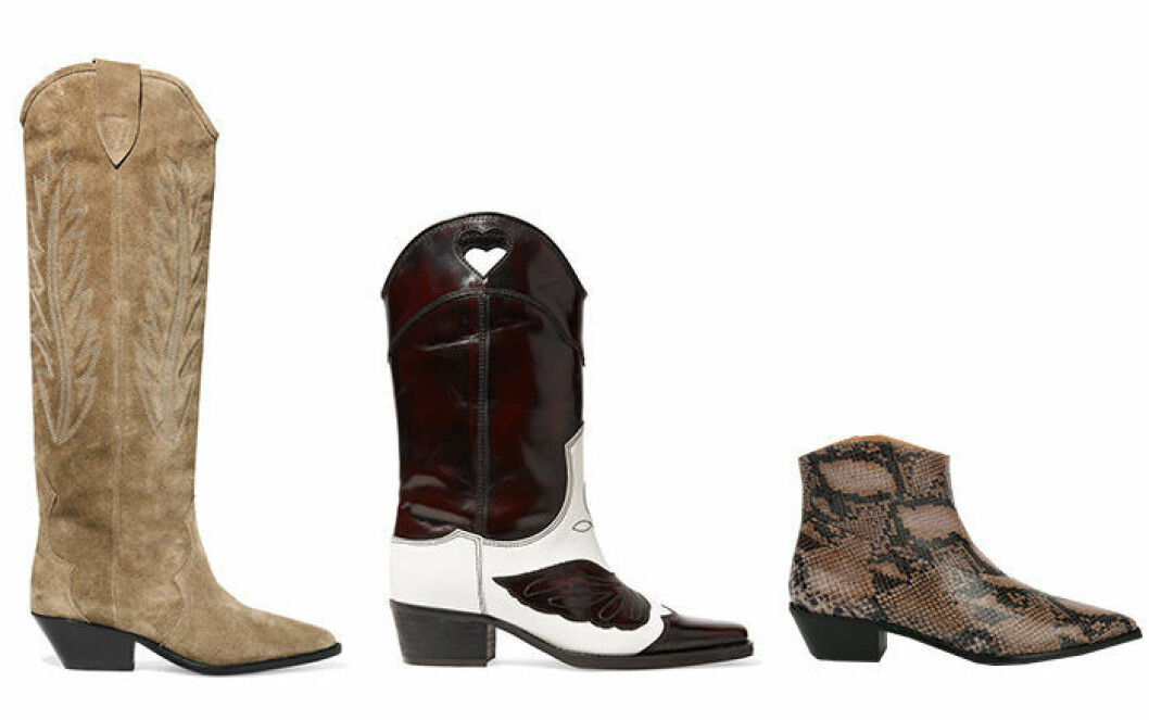 Cowboy-boots höstmode 2018