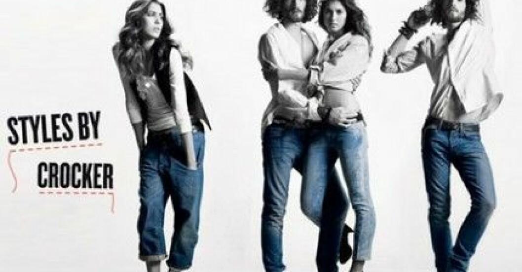 Jeans från Crocker säljs på JC.