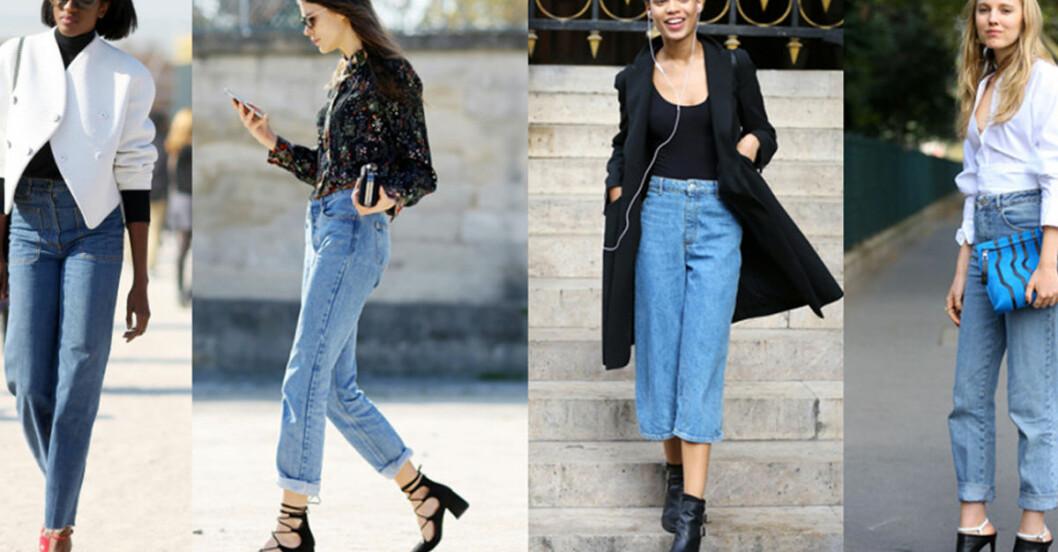 croppade jeans