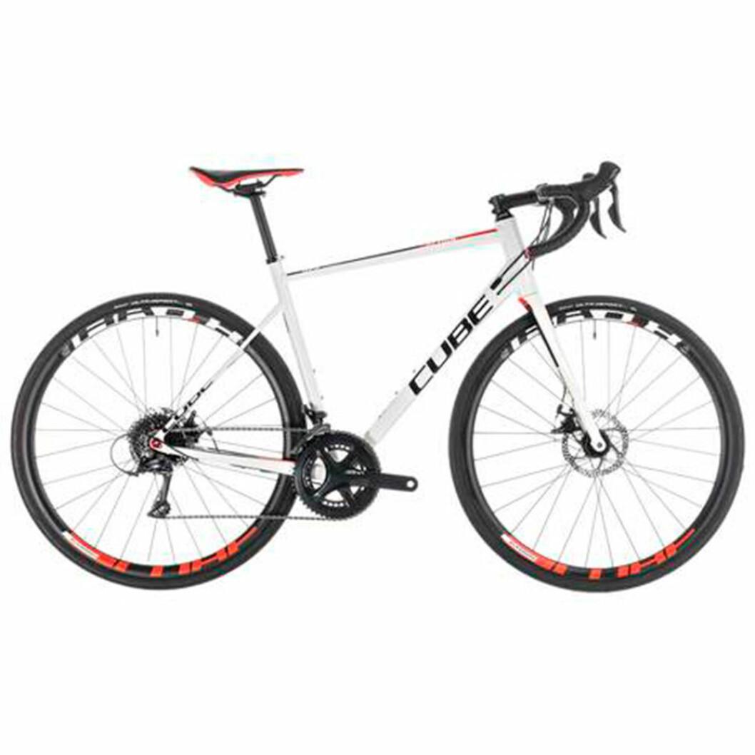 Cube vit cykel