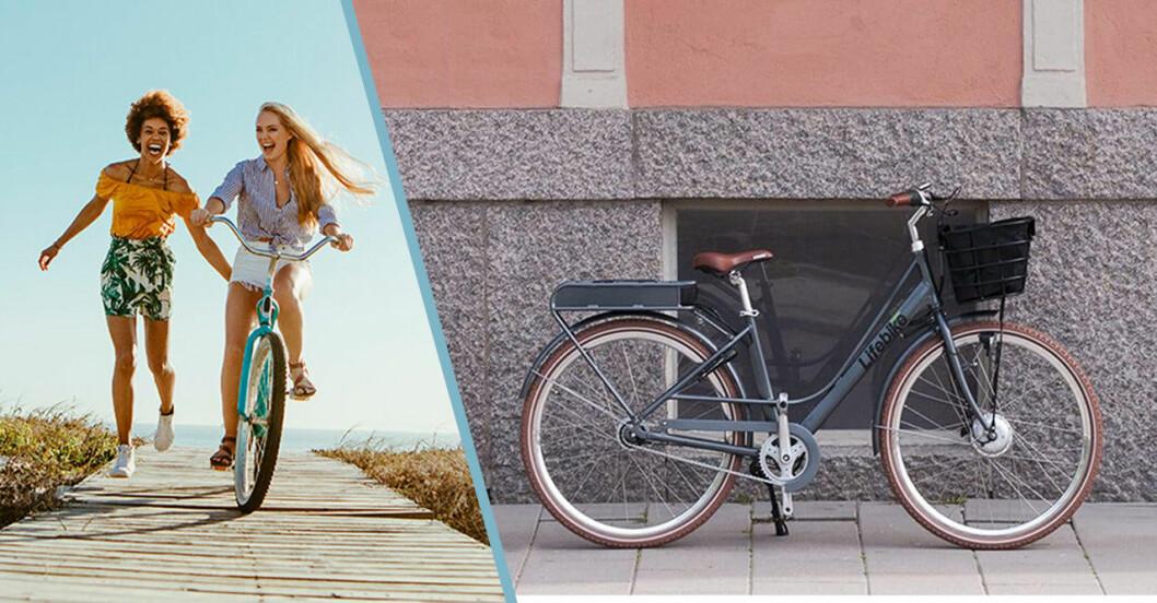 Elcyklar, moppar bra cyklar