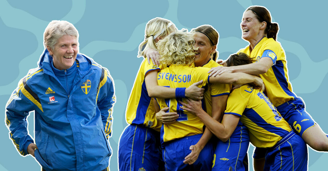 Milstolpar för jämställdheten inom fotbollen.