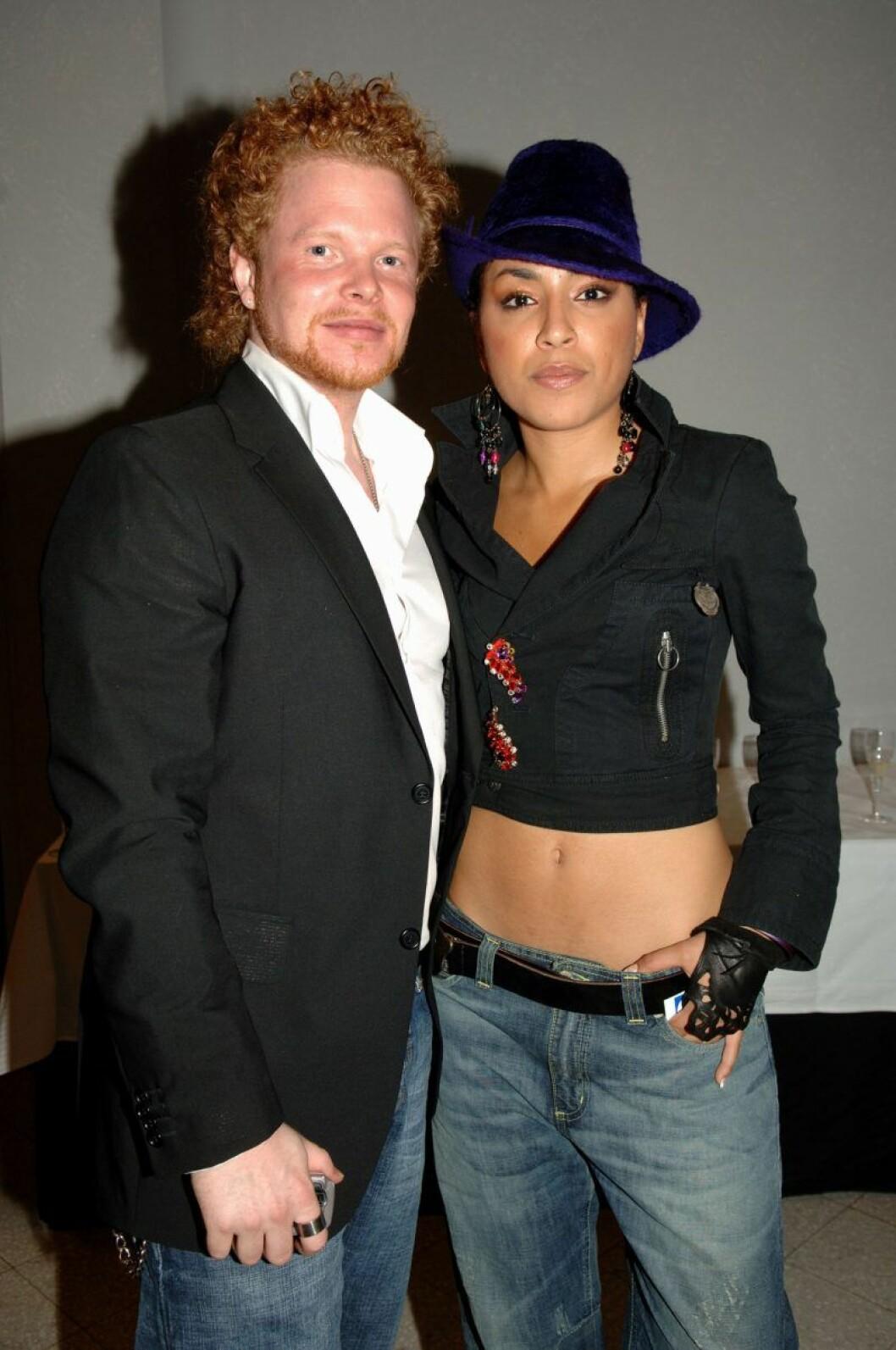 Daniel Lindström och Lorén Talhaoui var tillsammans 2004