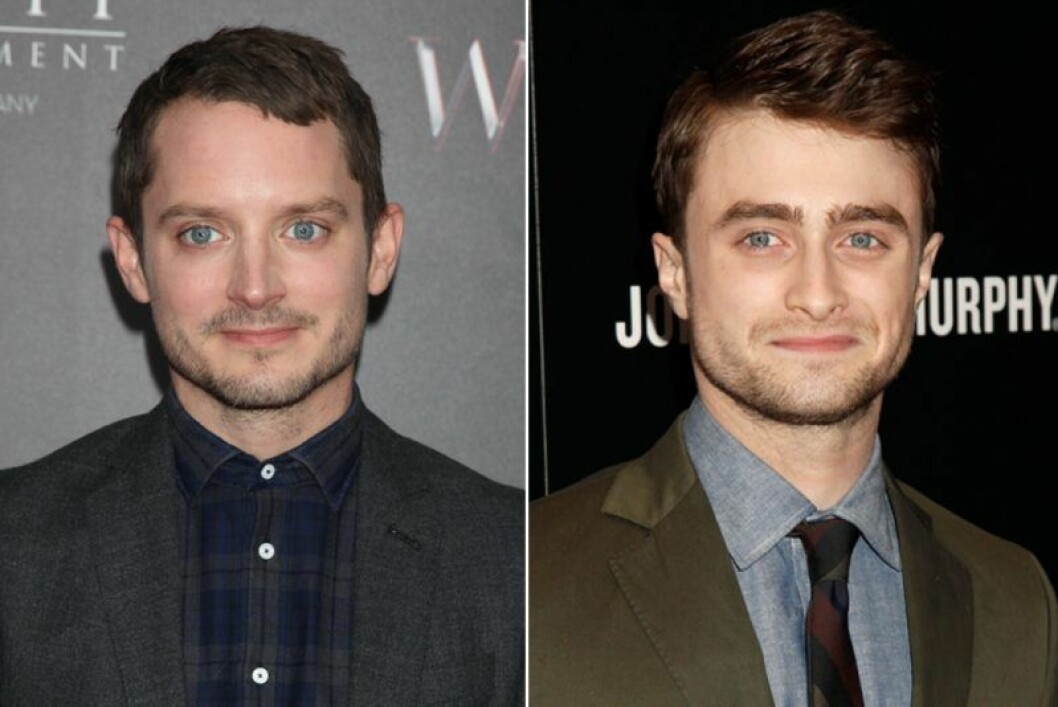 Daniel Radcliffe och Elijah Wood