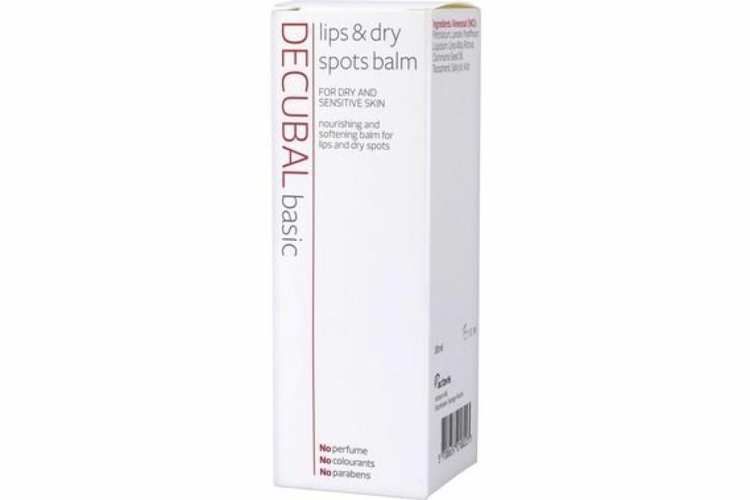 En bild på produkten Decubal – Lips & Dry Spots Balm.