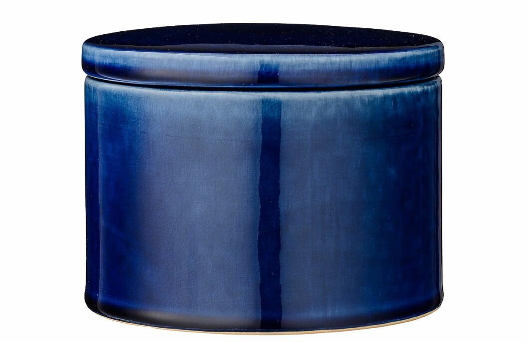 dekorativ skål mörkblå