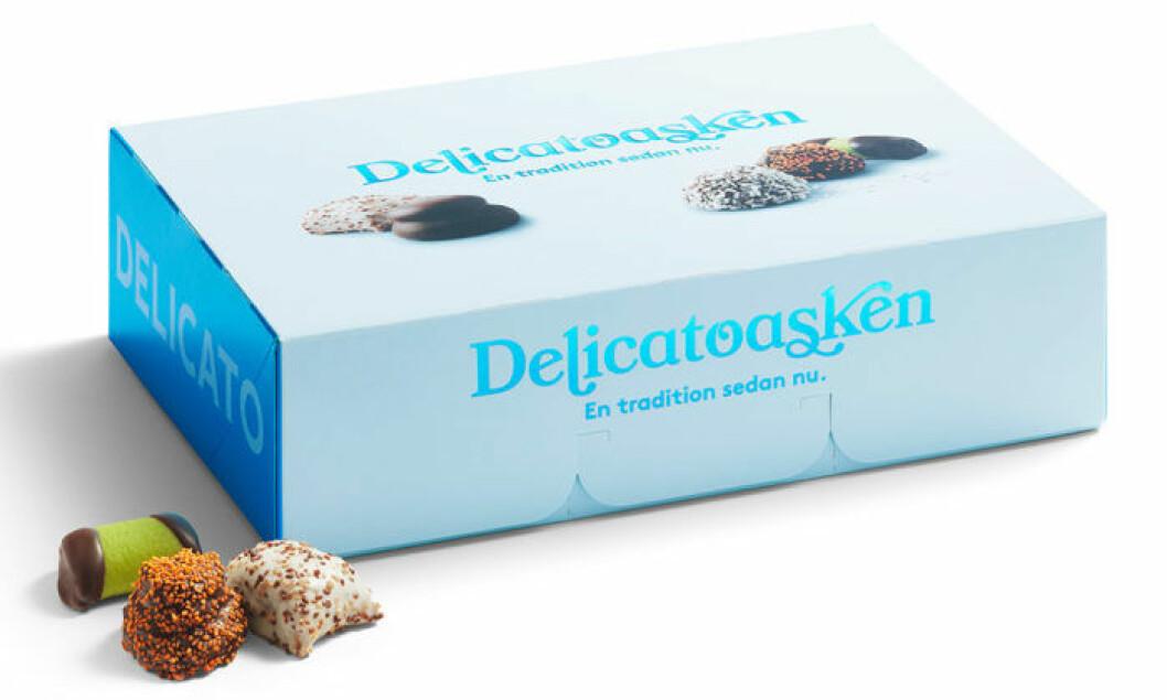 Apelsin möter choklad i Delicatoaskens nya godbit