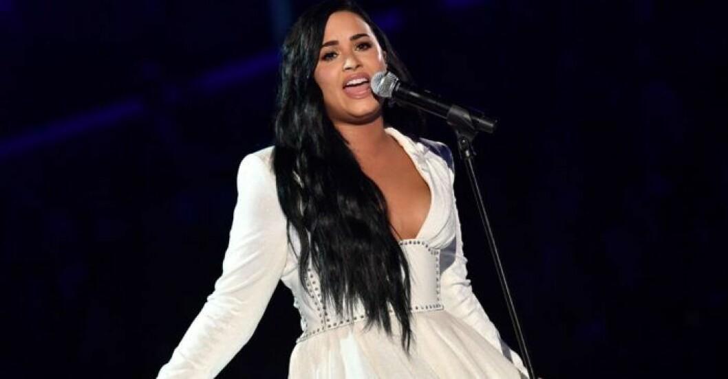 Demi Lovato blev lättad när hon fick sin diagnos.