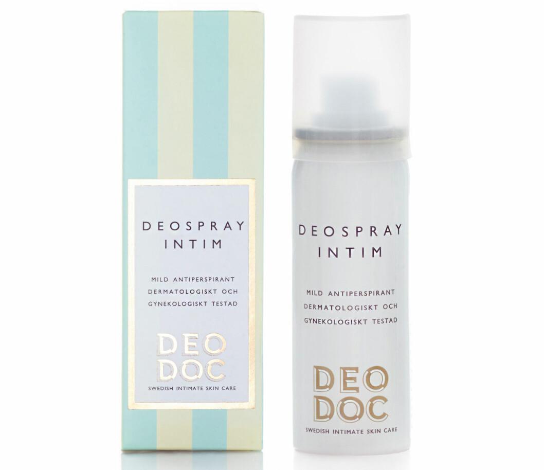 deodorant mellan benen