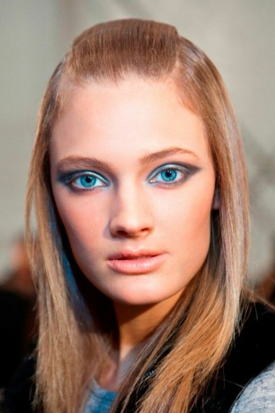 Modellen Constance Jablonski för Derek Lam, A/W 2011.