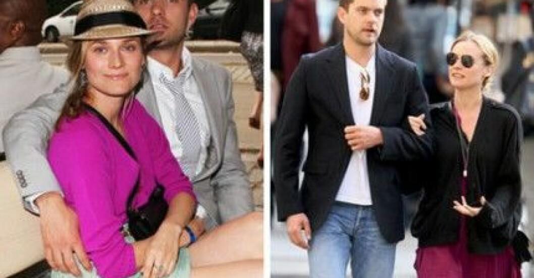 Diane Kruger gillar att klä upp sig för sin pojkvän Joshua Jackson.