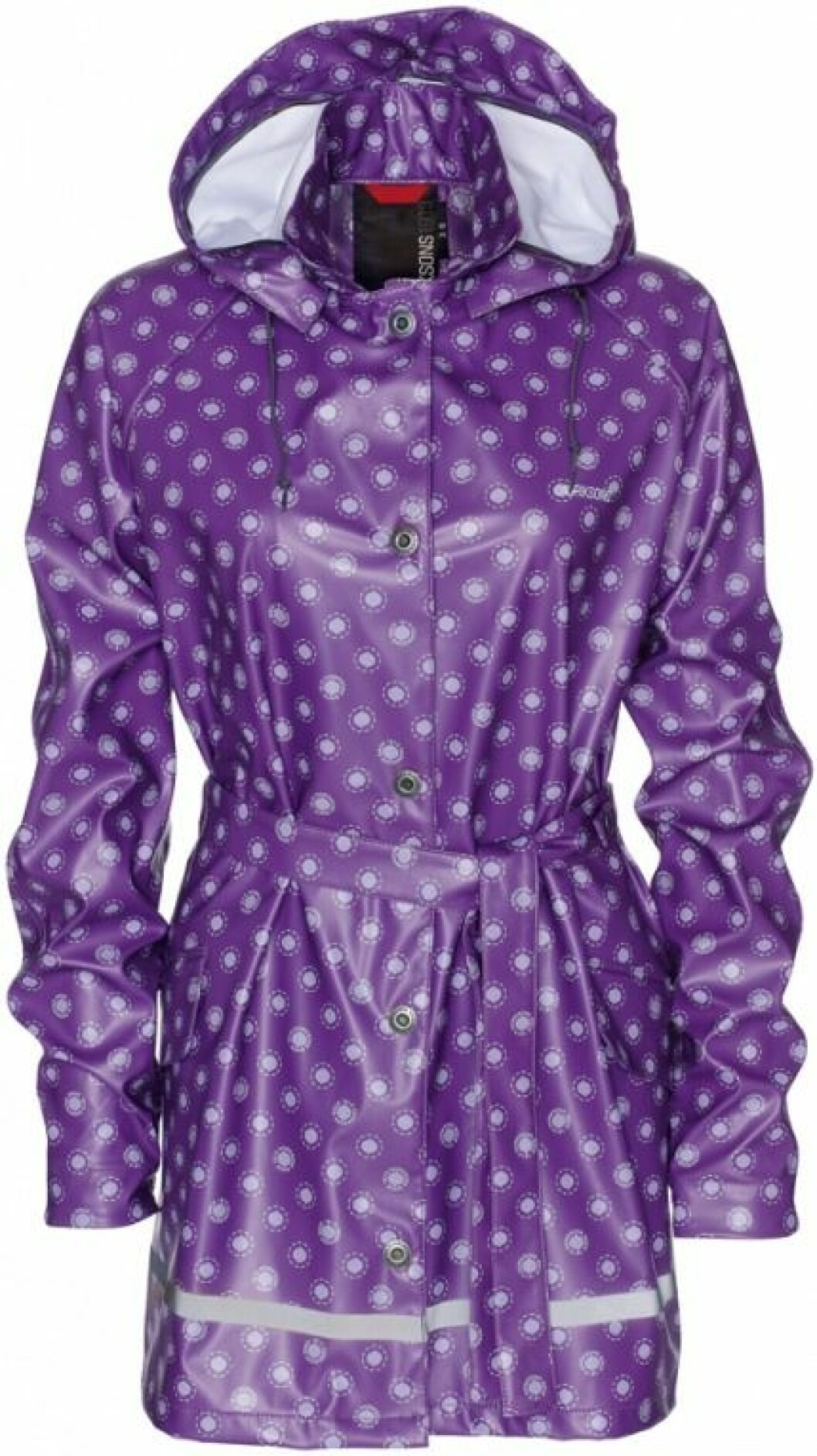 Didriksons Ebba Women´s Coat purple circle.