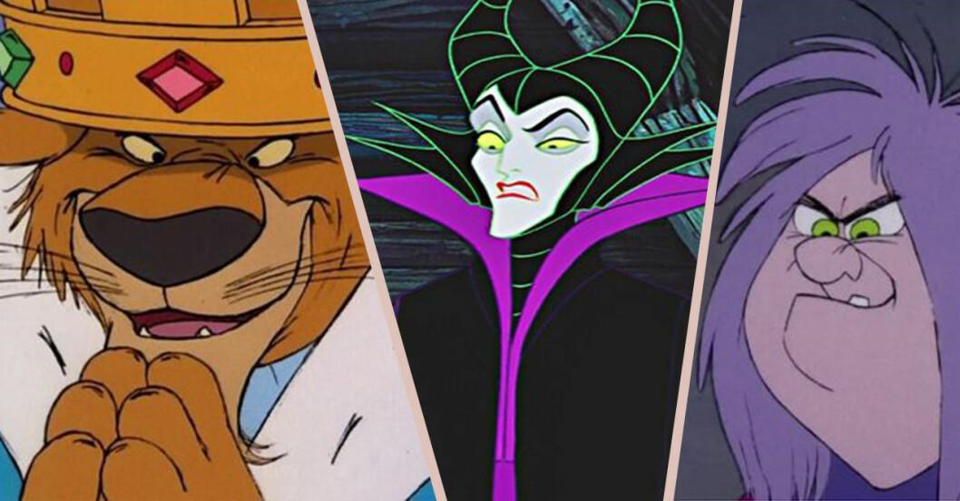 Prins John, Maleficent, Madame Mim