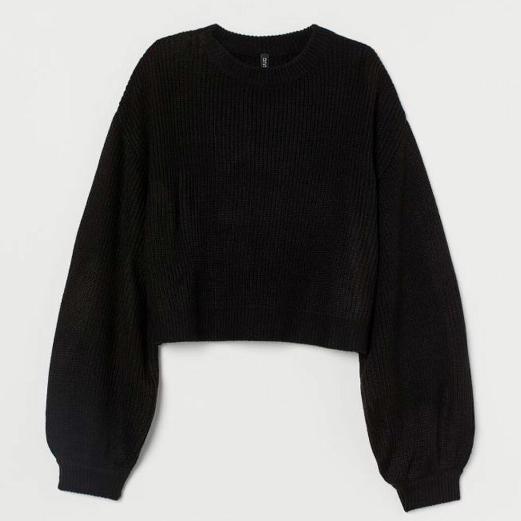 Stickad tröja från H&M