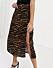 Djurmönstrad kjol med slits till 2020
