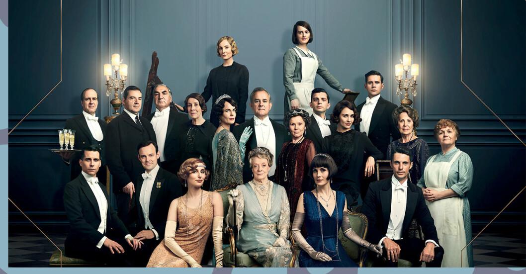 casten i första downton abbey-filmen
