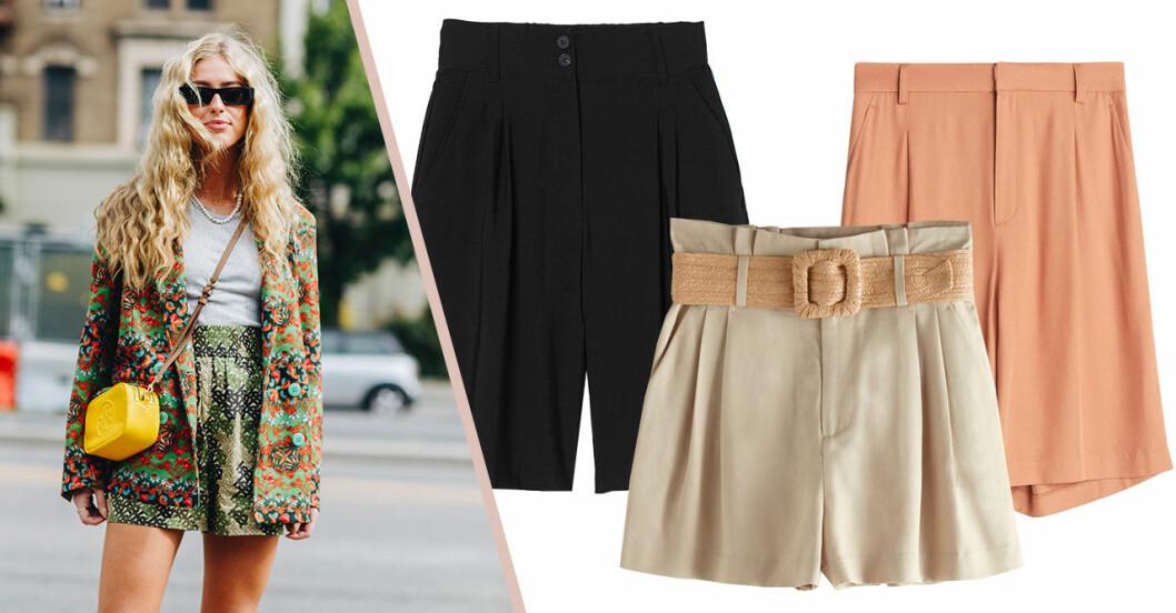 Dressade shorts som passar till fest för dam till sommaren 2020