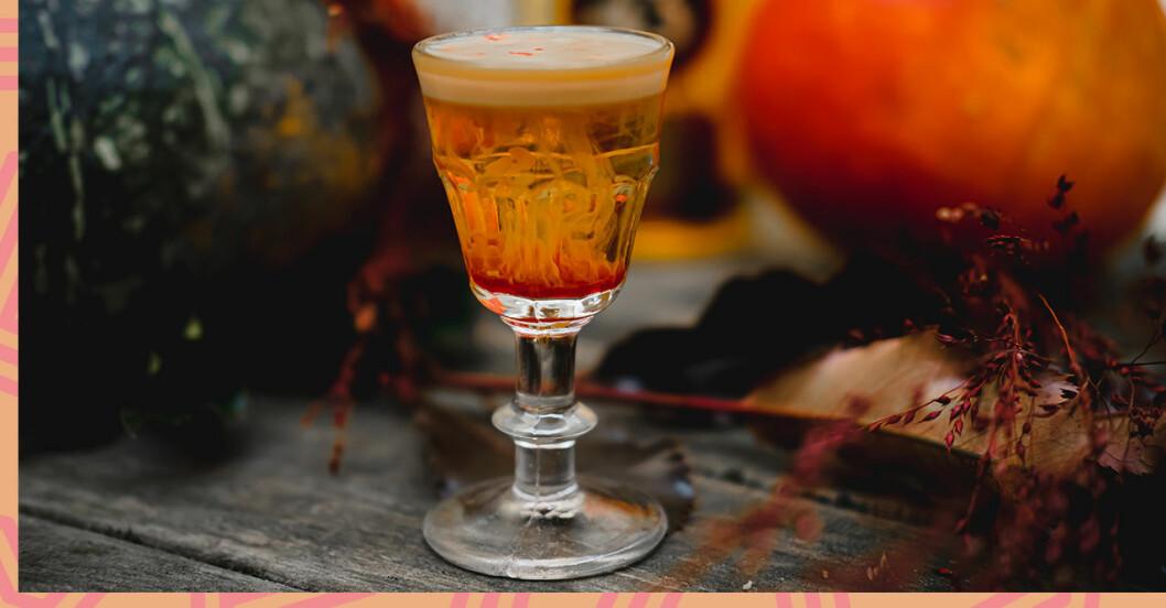 Rykande Halloweendrink