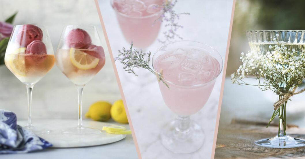 Recept på drinkar till midsommar