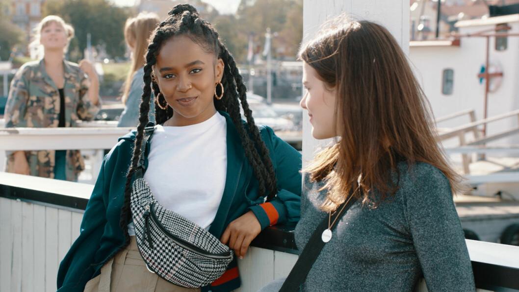 Amie och Klara i Eagles