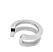 Silverfärgad earcuff från Wos