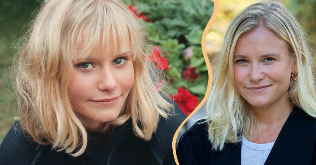 Ebba Hultkvist då och nu.