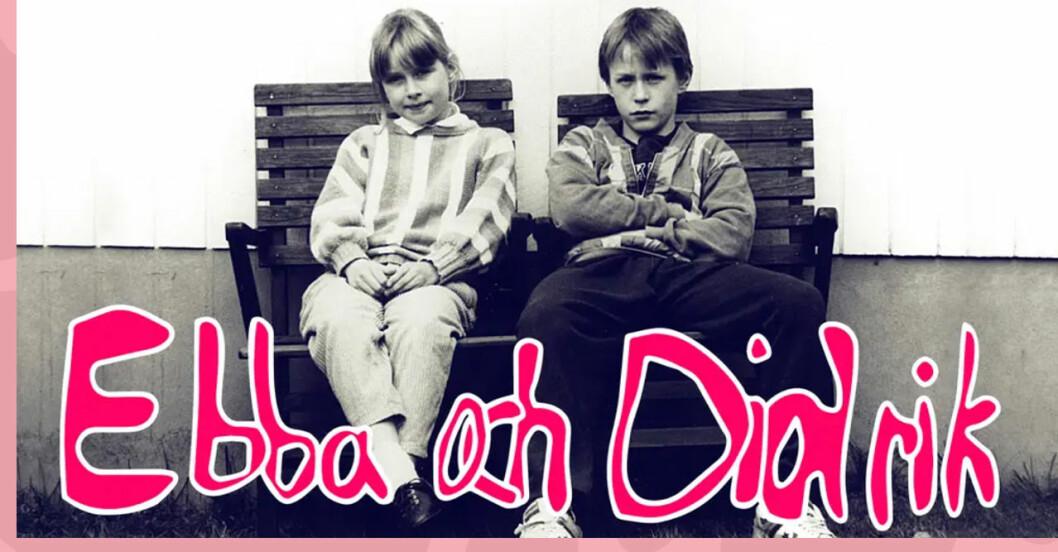 ebba och didrik, lisen och johan 1988.